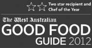 Good food guide Chef of the Year